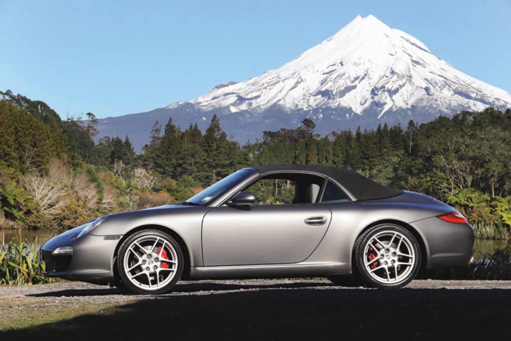 Porsche Mt. Taranaki